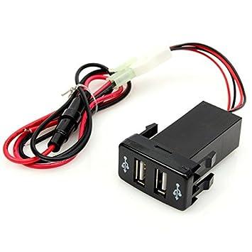 JenNiFer Cargador USB De Coche ZR-Cha-Dc2 para Toyota Camry ...