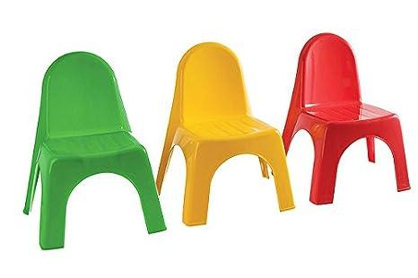 Avanti trendstore keren sedie in plastica per bambini set di 4