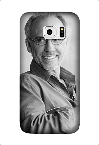 larry carlton grey-haired smile bristle guitar Hard Back Case Cover Skin For Samsung Galaxy S7 Design By [Andrea Novak]