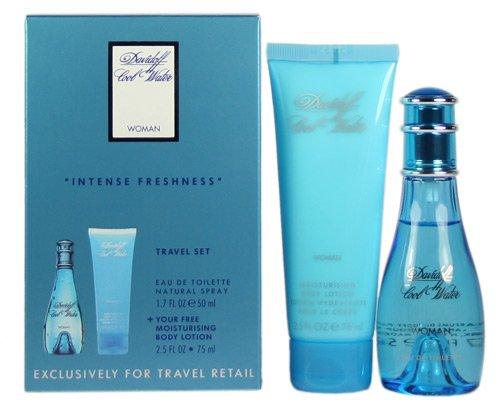 Davidoff Cool Water Woman Travel - Cool Perfumes Set Water Women For