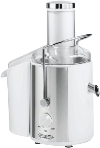 BELLA 13454 Juice Extractor, White with Stainless Steel