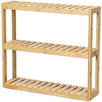 amazon com songmics adjustable slim shelf rack Mirrored Shelving Unit Bathroom Narrow Shelf Units