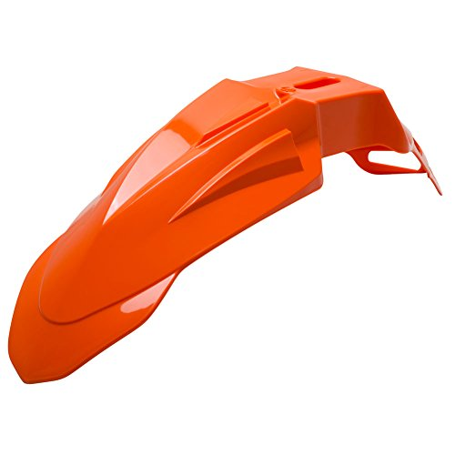 Acerbis Super Motard Front Fender KTM Orange - Fits: KTM 690 SMC 2007-2010
