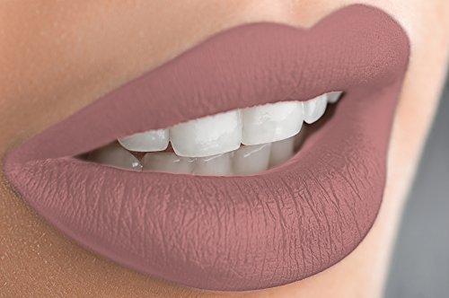 Matte Liquid Lipstick Long Lasting Mineral Formula - Sarah