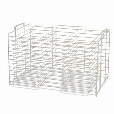 Pacon 75004 Board Storage and Drying Rack, 22''w x 28''d, White by Pacon