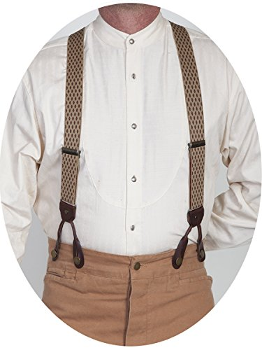 Scully RW243S Mens Assortments, Beige-ONE (Scully Costume)