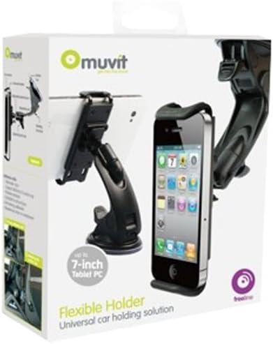 Muvit MUCHL0009 - Soporte De Coche Universal para Smartphones hasta 7: Amazon.es: Informática