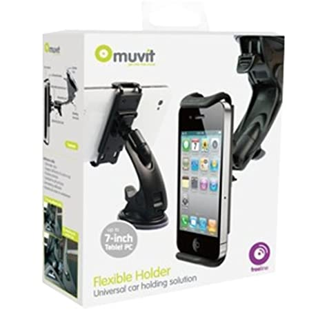 Muvit MUCHL0009 - Soporte De Coche Universal para Smartphones ...