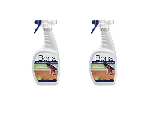 Bona 36-Ounce Hardwood Floor Cleaner Spray Bottle, pack of - No Glasses Bono