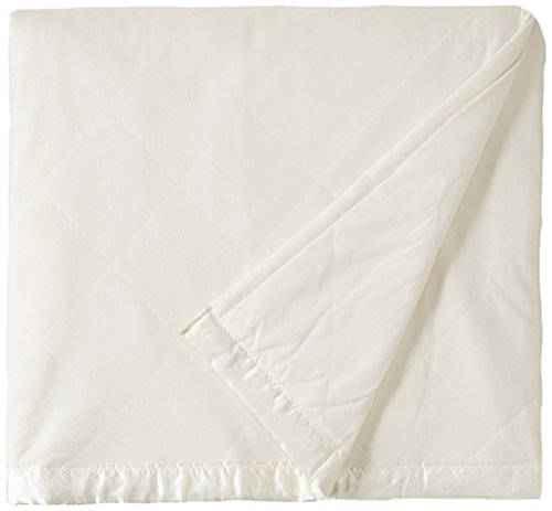 Shavel Home Products Micro Flannel Solid Electric Heated Blanket Ivory Twin