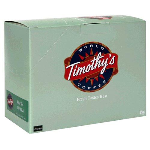 Timothys Cinnamon Tea - Timothy's World Tea, Chai Tea, 24-Count K-Cups For Keurig Brewers (Pack of 2)