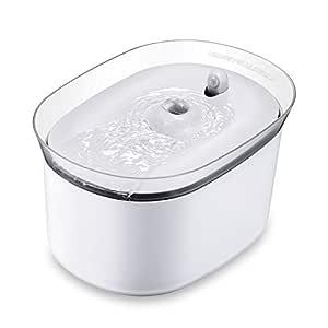honeyguaridan W25 dispensador Silencia Fuente de Agua Automática Inteligente con Sensor de Infrarrojos,bebederos Mascotas,Fuentes para Perros y Gatos ...