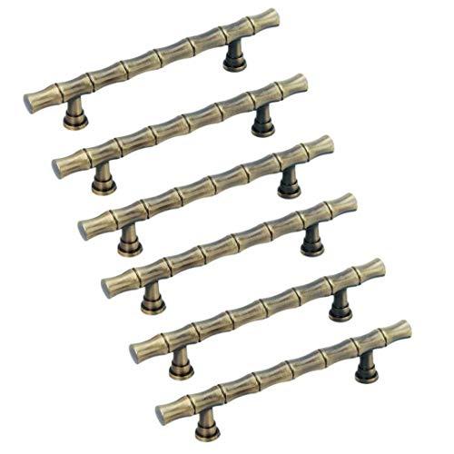 oo Kitchen Cabinet Handles,Antique Brass Bar Modern Knobs Pulls for Cupboard/Cloest/Bookcase/Cloakroom/Bathroom/Bathroom Cabinet ()