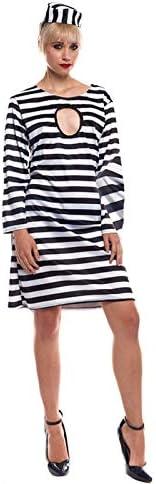 Partilandia Disfraz Presa Mujer para Carnaval (M) 20023: Amazon.es ...