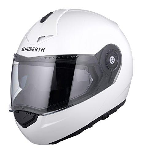 l Glossy Casco Modulare Pro C3 Schuberth bianco Bianco White SOwq1Hcv