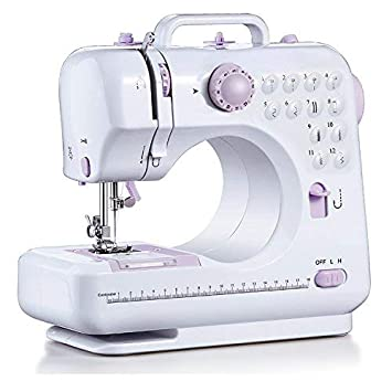 Sewing Machine 12 Stitch Patterns Foot Pedal Double Speed Control