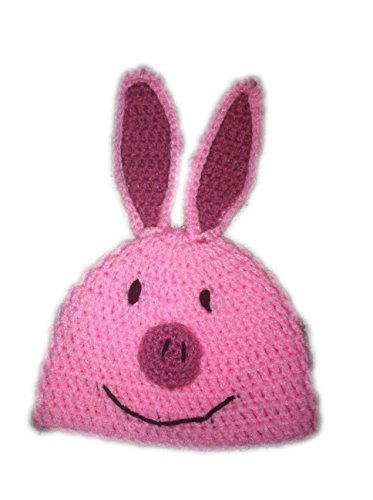 Teen or Adult Pink Pig Hat - Pudgy Pig Costume