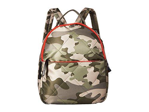 Tommy Hilfiger Women's Kensington Camo Nylon Backpack Green One Size