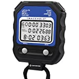 Digi-Sense Traceable 60-Memory Digital Stopwatch with Calibration