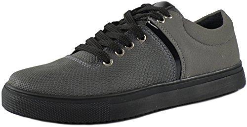CAPRIUM Sneaker Sportschuhe Schuhe, Herren Modell Milano 191829 Grau