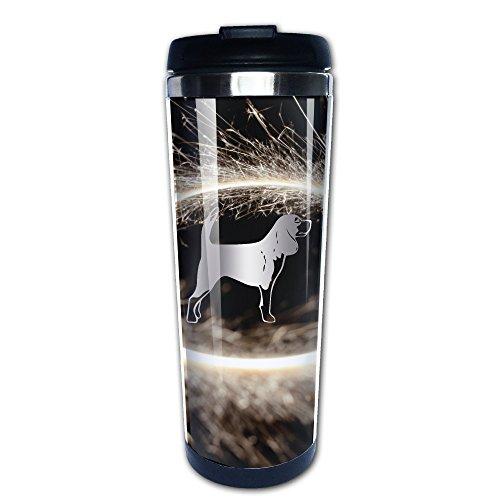 Chappy Mugs Hunting Dog E331 Platinum Style Vacuum Cup