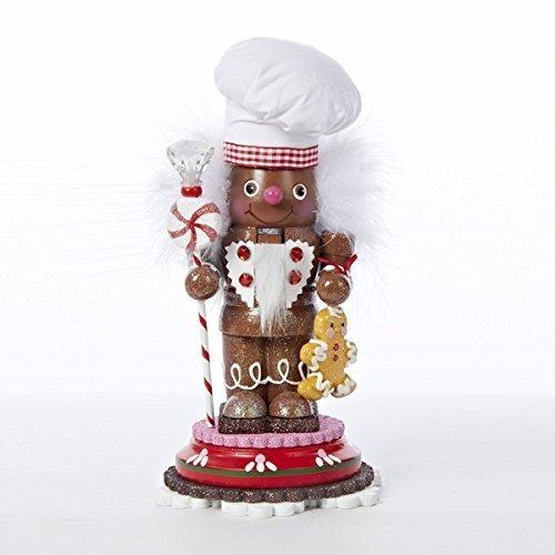 Kurt Adler Hollywood Gingerbread Chef Nutcracker, 10-Inch by Kurt Adler