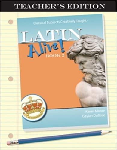 Amazon latin alive book two teachers edition latin edition book two teachers edition latin edition latin teachers guide edition fandeluxe Image collections