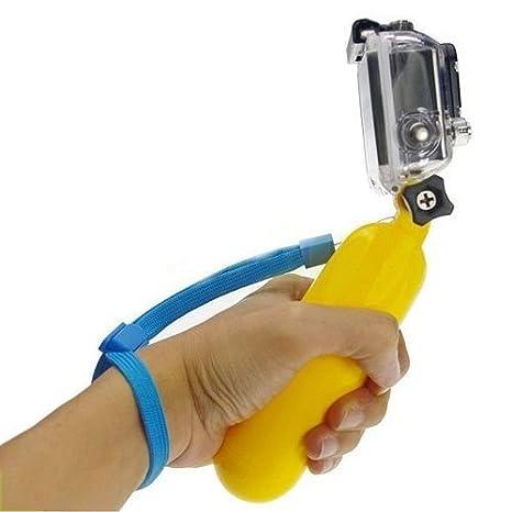 Palo Selfie Flotante para Gopro, Boya Flotador de Cámara Deportiva, Soporte Bobber Acuático, Selfie Gopro: Amazon.es: Electrónica