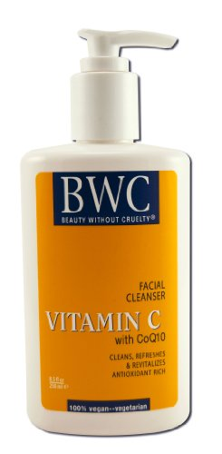 Beauty Without Cruelty Facial Cleanser Vitamin C with Coq10, 8.5 Ounces