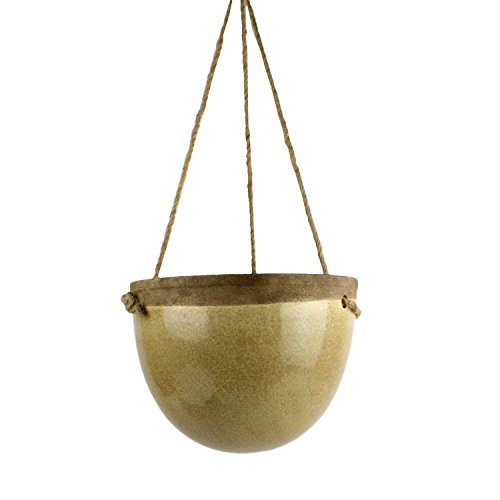 Ceramic 9.5' Garden - Mulberry Hanging Planter - Sm