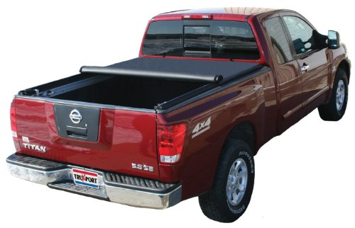 Truxedo 2004-2014 Nissan Titan 5.5' Bed (With Track System) TruXport Soft Roll-Up Tonneau Cover