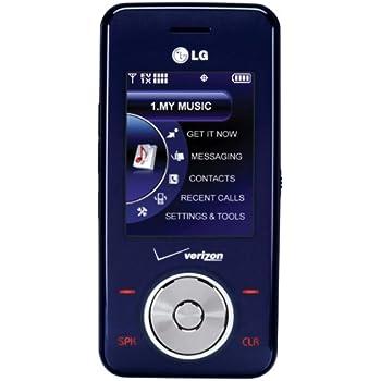 amazon com lg chocolate vx8550 phone dark blue verizon wireless rh amazon com LG Chocolate 2 LG Juke