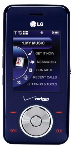 LG Chocolate VX8550 Phone, Dark Blue (Verizon Wireless) ()