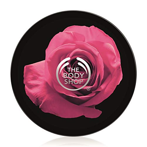 The Body Shop British Rose Body Butter Moisturizer - 200ml (Touch Body Butter)