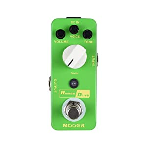 Mooer Baby Tuner Pedale Accordatore Cromatico – Rumble Drive