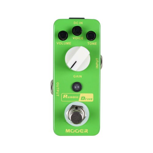 Mooer MOD2 Rumble Drive Overdrive Guitar Distortion Effects Pedal
