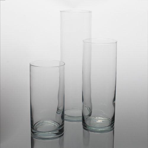 Eastland Wide Cylinder Vases Set of 3 3 Sizes