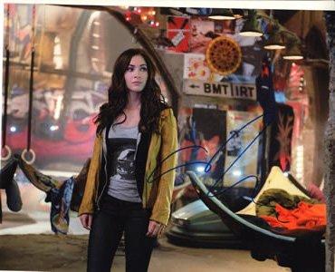 Teenage Mutant Ninja Turtles Signed In-person 8x10 Photo Megan Fox As April