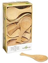 PackNWood 209BBIWAKI Iwaki Bamboo Spoon 0 25 Oz 3 7 X 1 8 500 Per Case
