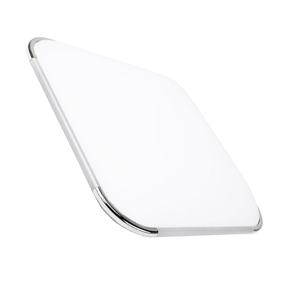 Hengda/® 24W l/ámpara de techo led blanca c/álida Extraplano de techo cocina de sala de estar luz de cocina l/ámpara de techo panel de l/ámpara de techo habitaci/ón Clase de eficiencia energ/ética A++