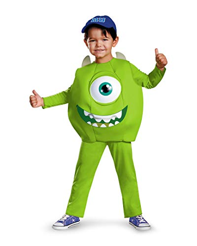 Disney Pixar Monsters University Mike Toddler Deluxe Costume, Small/2T -