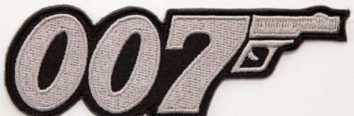 """007 James Bond Movie Logo Embroidered Iron on Patch / 3"""" ..."""