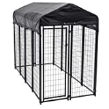 Lucky Dog Uptown High Quality Welded Wire Box Kennel 6 ft. H x 8 ft. L x 4 ft. W
