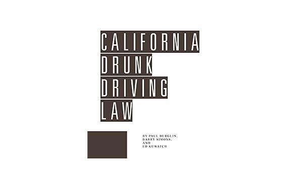 California Drunk Driving Law