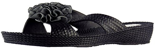 Millie Womens Summer Synthetic Mules Black rk9C590Wjo