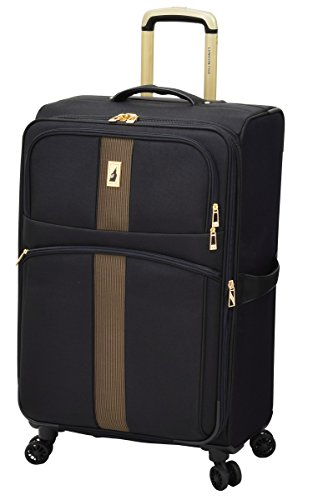 London Fog Langley 21'' Expandable Spinner Carry-on, Black by London Fog
