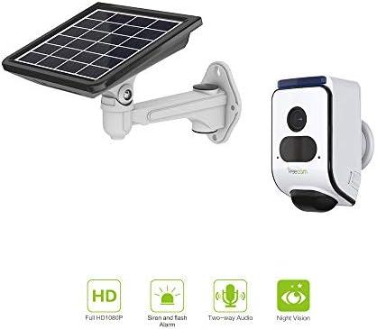 Freecam Solar Powered Alarm Security Camera