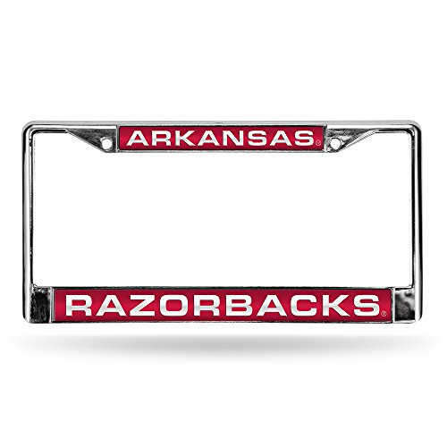 Laser Cut Chrome License Plate Frame ()