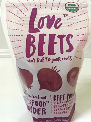 Love Beets Organic Beet Powder