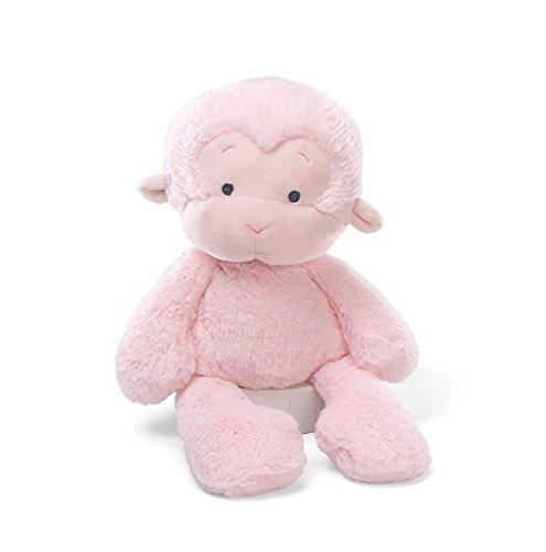 Monkeys Stuffed Gund - Gund MeMe Monkey Pink Small Plush Figure